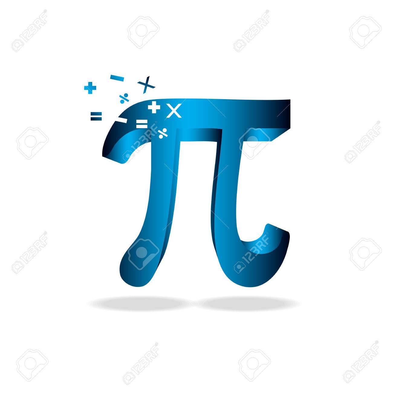 Pi day vector background mathematical constant irrational number mathematical constant irrational number greek letter abstract digital publicscrutiny Image collections