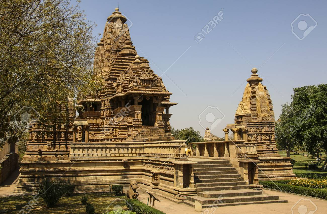 Lakshmana temple, Western Temples of Khajuraho,India