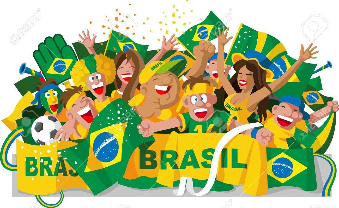 Handmade watercolor brazil flag brasil stock photos freeimages com - Brasil Flag Brazilian Fans