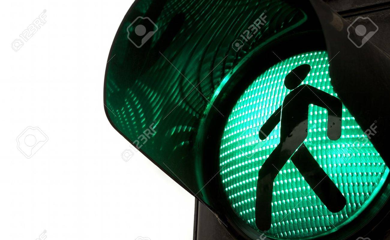Traffic lights with the green light lit. - 15356997