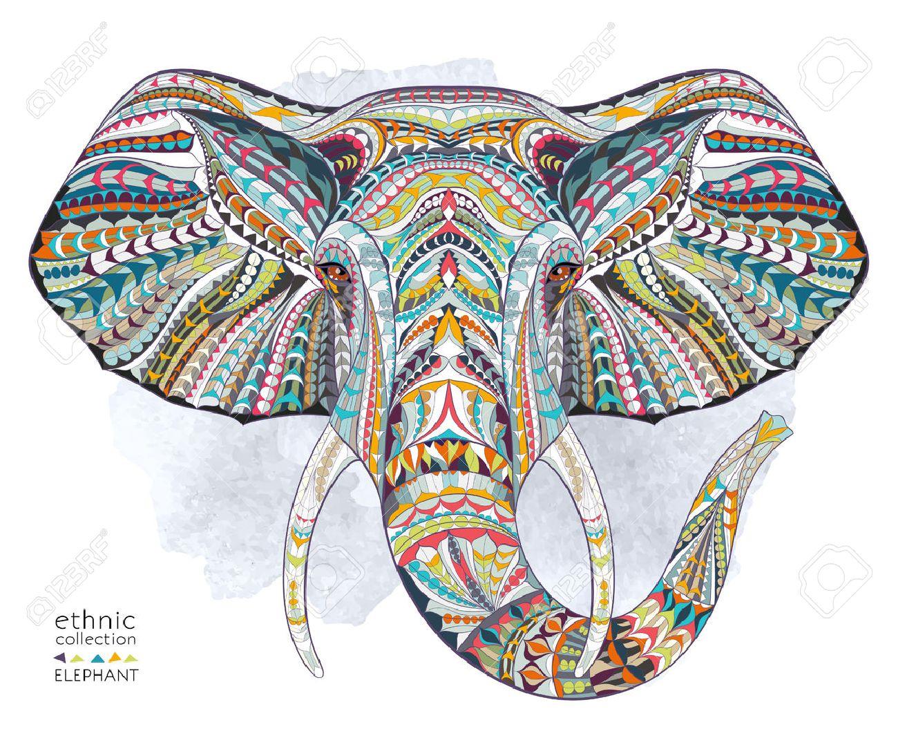 Dibujos De Elefantes Indios Wwwimagenesmycom