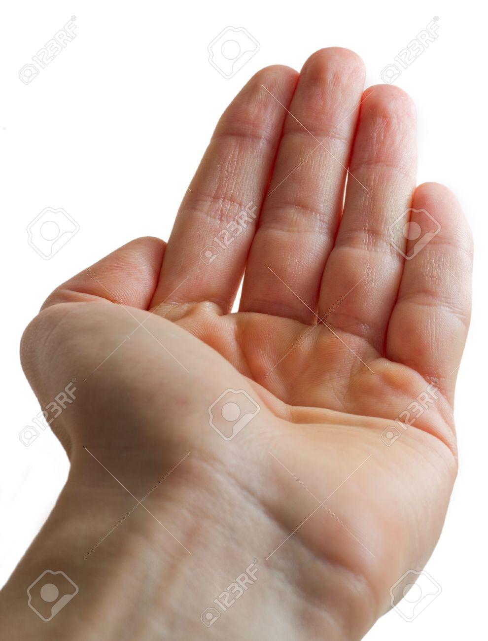 Open Hand Palm - 8861735