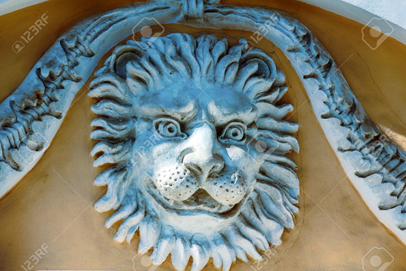 Art Et Decoration Juin 2017 russie, saint-pétersbourg - 7 juin 2017: extravagances architecturales,  fioritures esthétiques, décoration de bâtiments et de rues. sculpture,