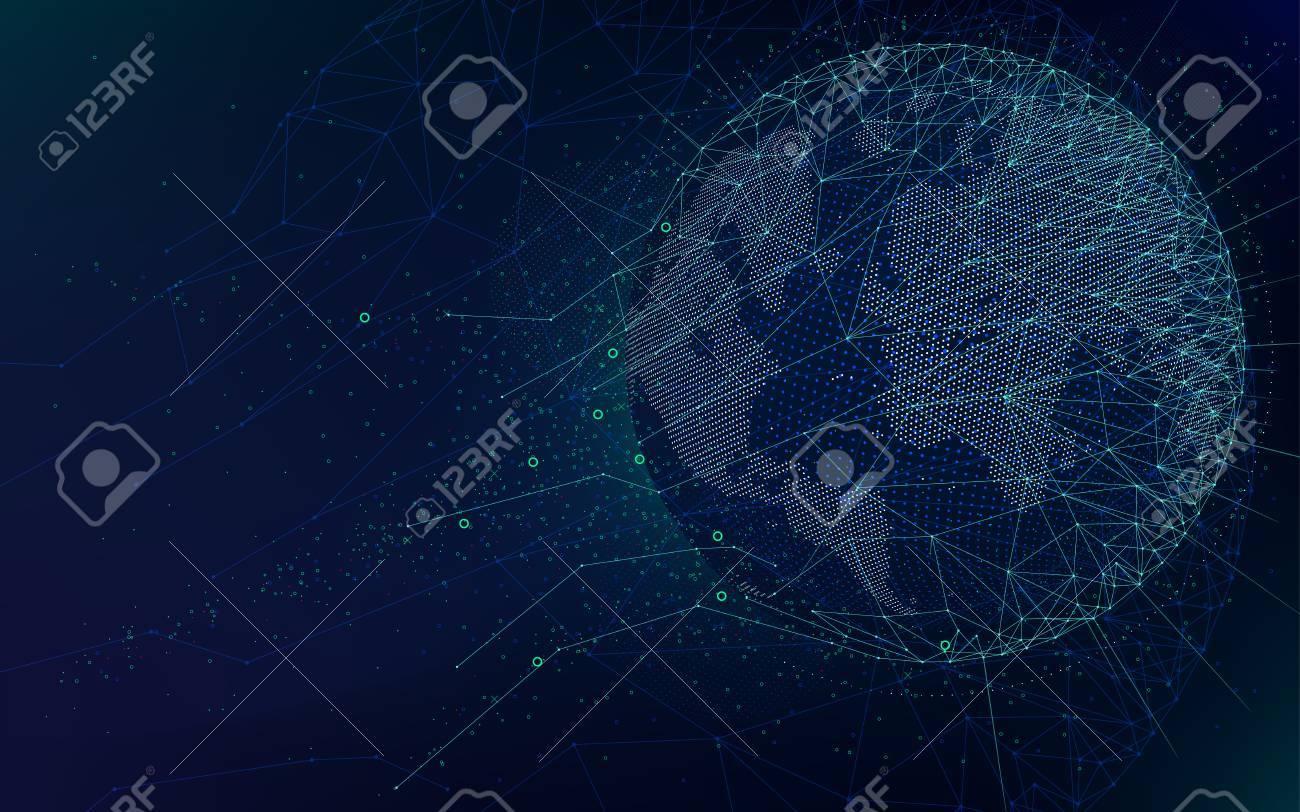 Mundo fondo espacio
