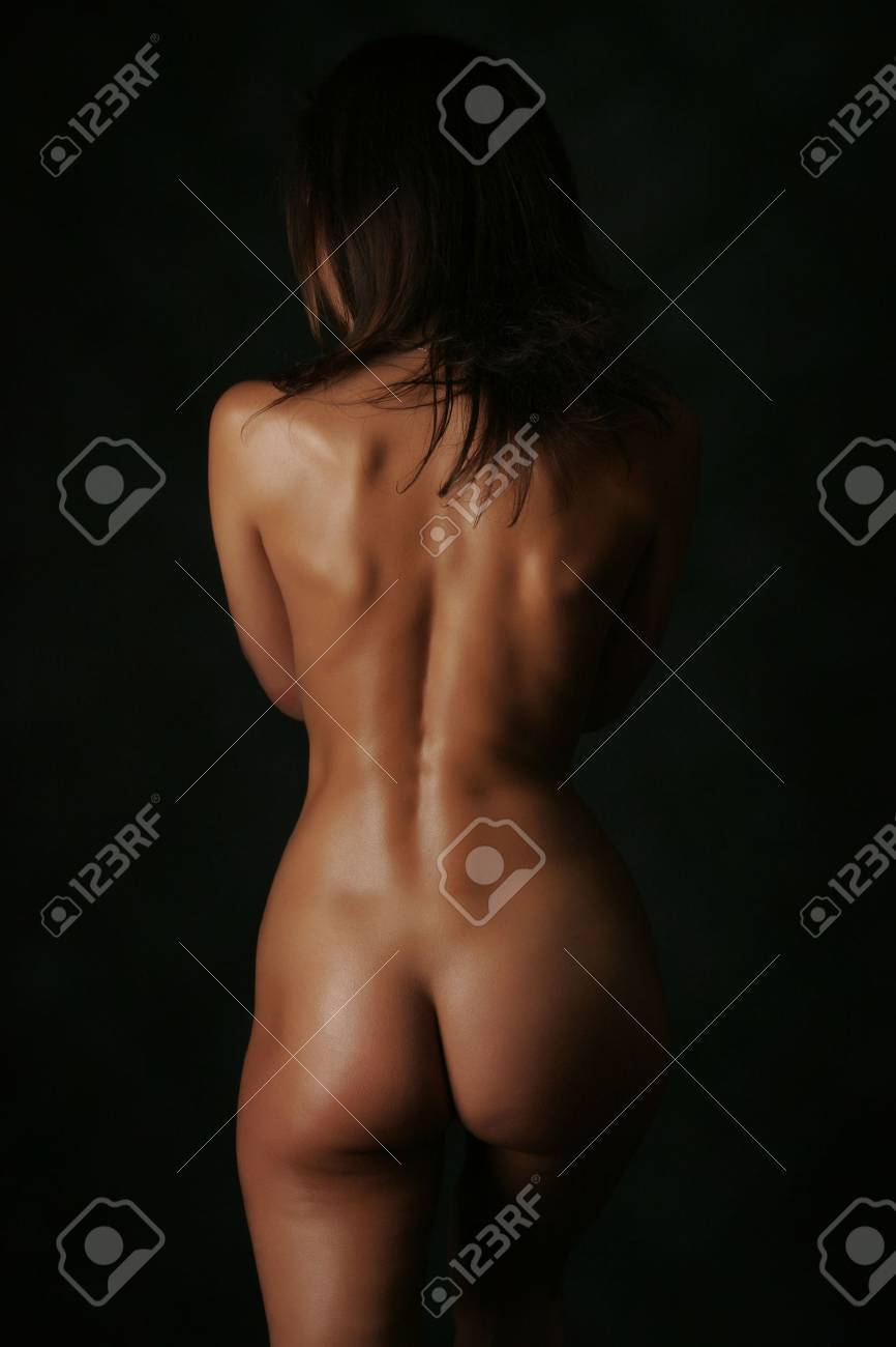 Anonymous sensual girl isolated in studio Stock Photo - 3123324