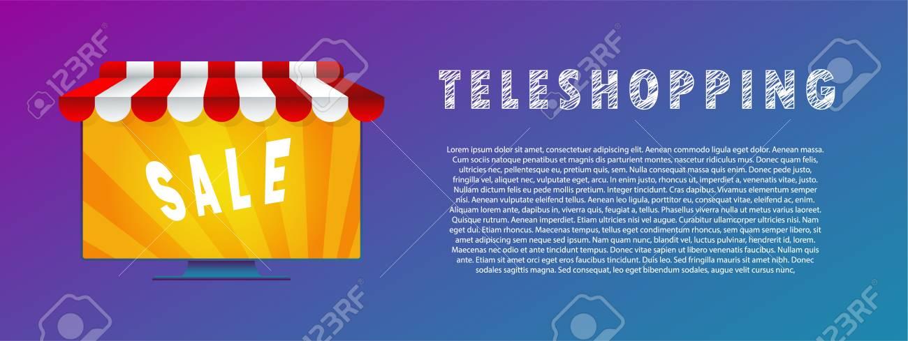 Teleshopping. - 104886381