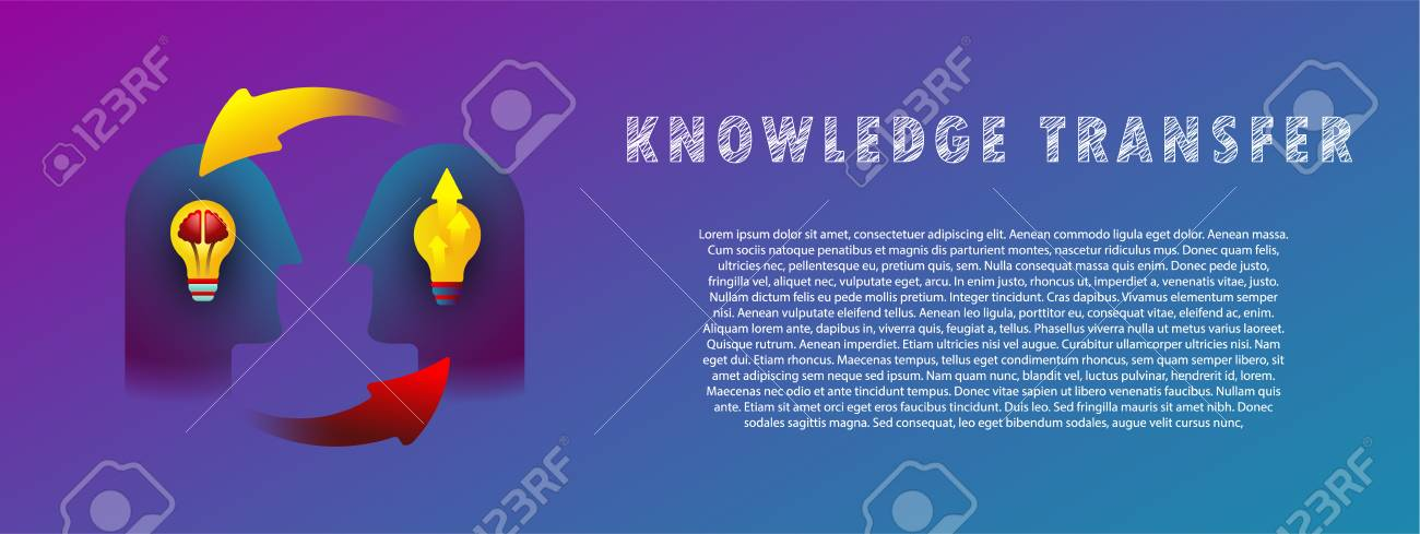 Knowledge transfer. - 104886397