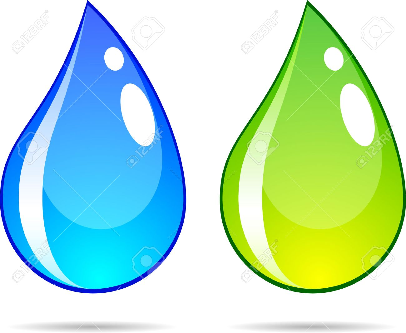 bright water drops vector illustration royalty free cliparts rh 123rf com water droplets vector images water drops vector download