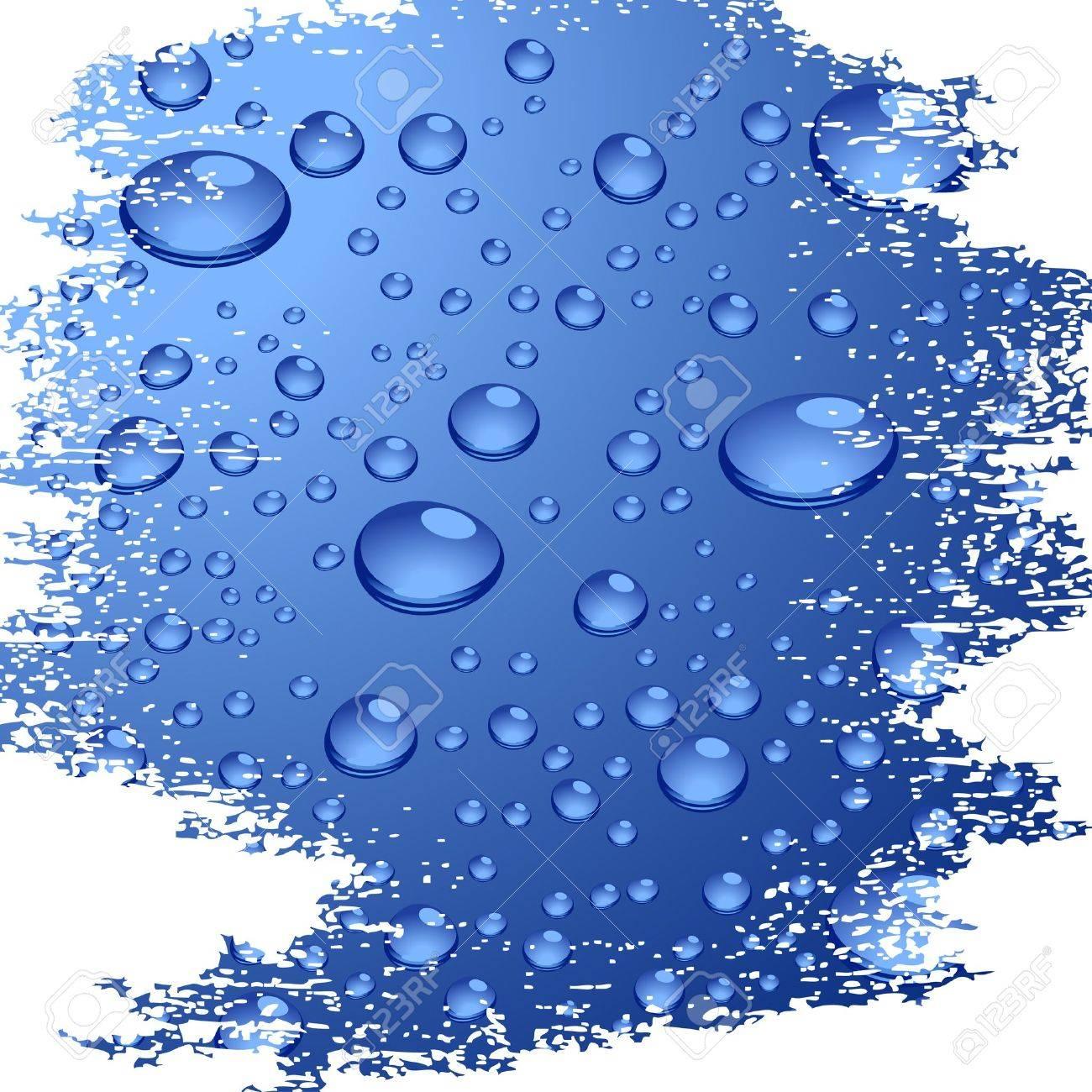 Grunge wet surface. Vector illustration. - 3482088