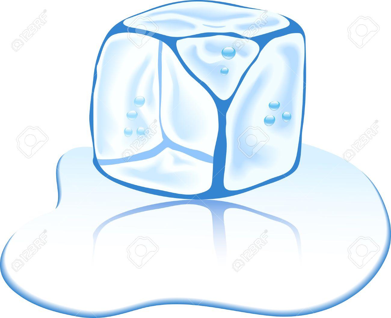 shiny ice cube vector illustration royalty free cliparts vectors rh 123rf com ice cube vector free ice cube vector art