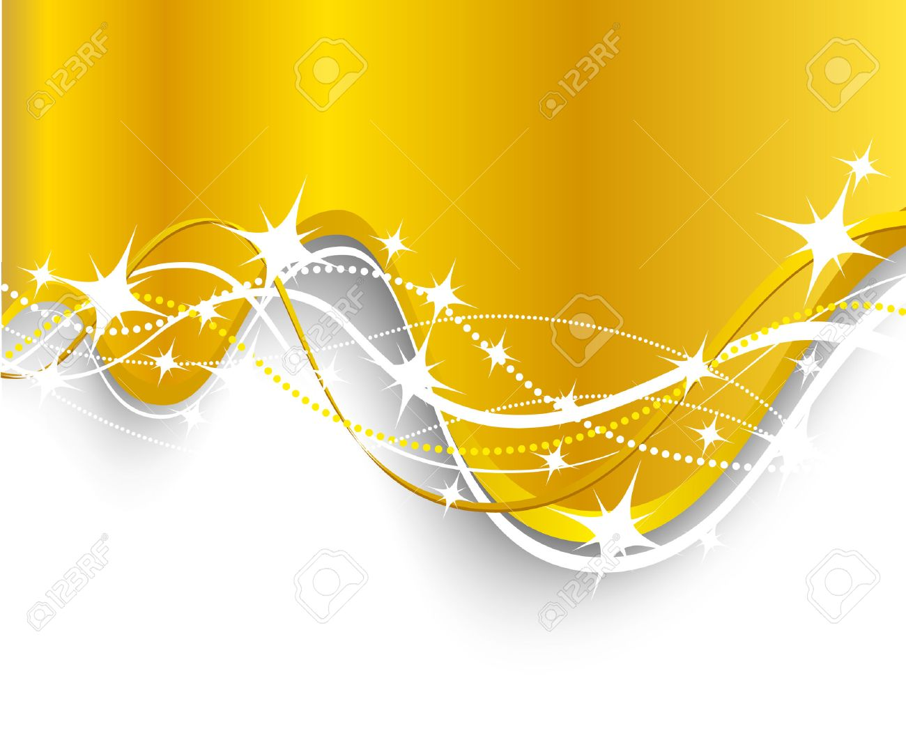 Christmas background. Vector. Used mesh. Stock Vector - 3894842