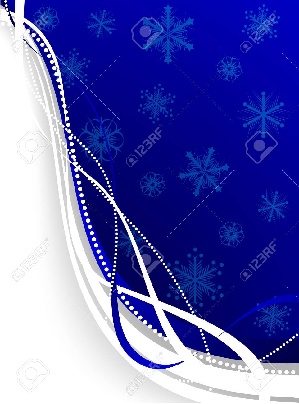 Christmas background. Vector. Used mesh. Stock Vector - 3927817
