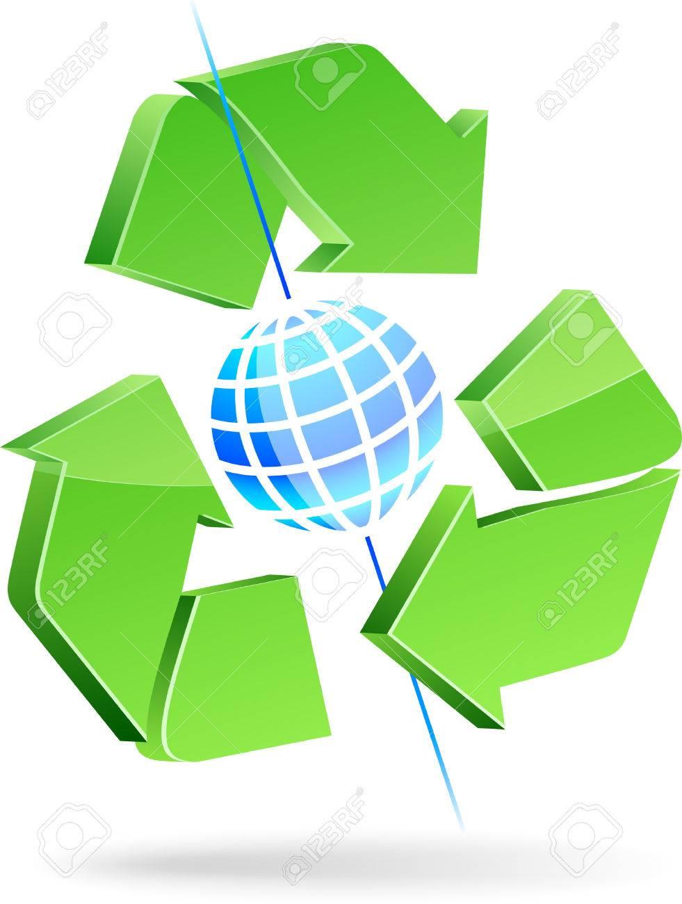 Save earth symbol. Vector illustration. Stock Vector - 5016174