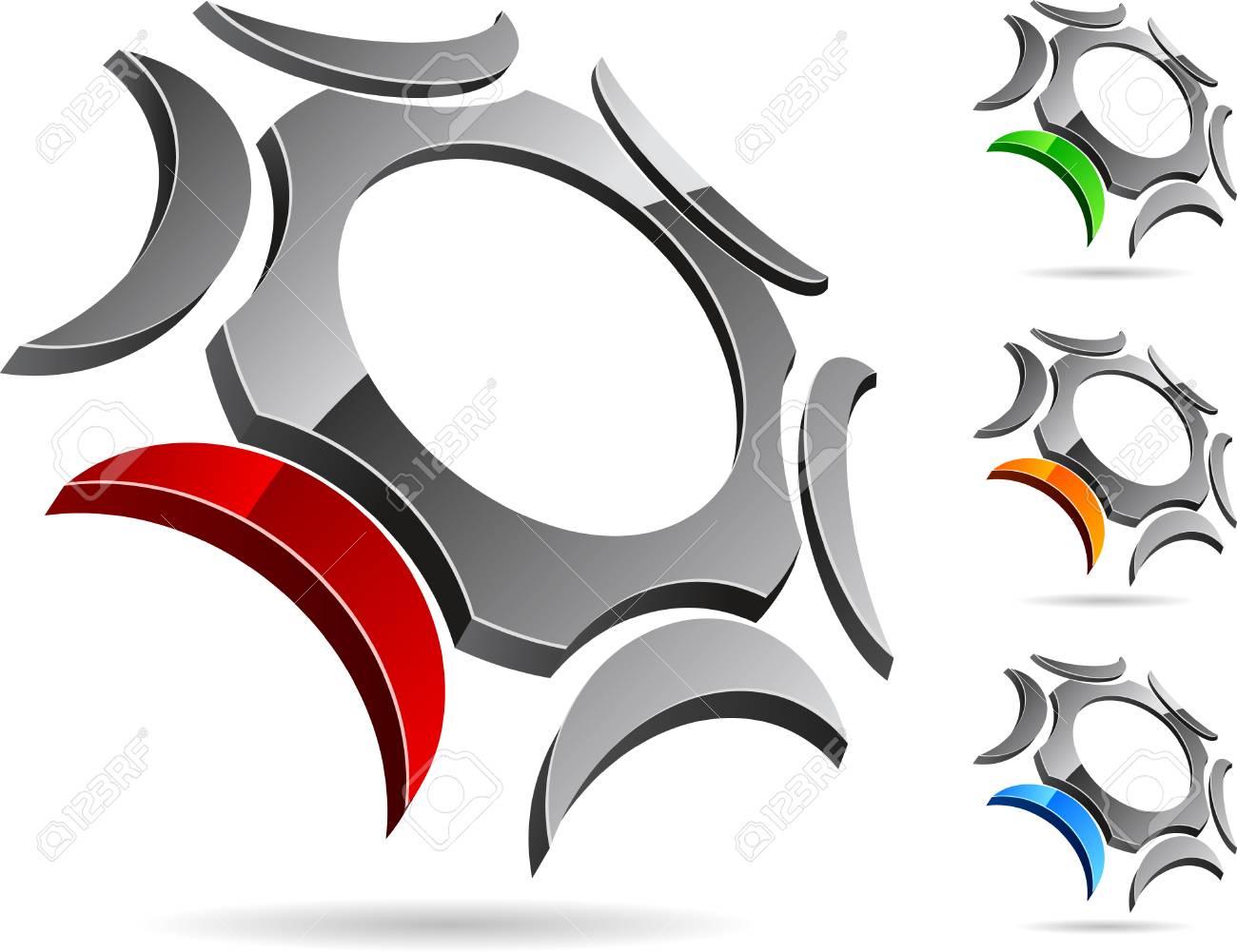 Abstract company symbol. Vector illustration. Stock Vector - 5212922