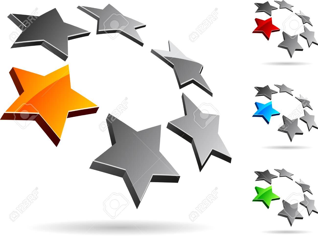Abstract company symbol. Vector illustration. Stock Vector - 5212957