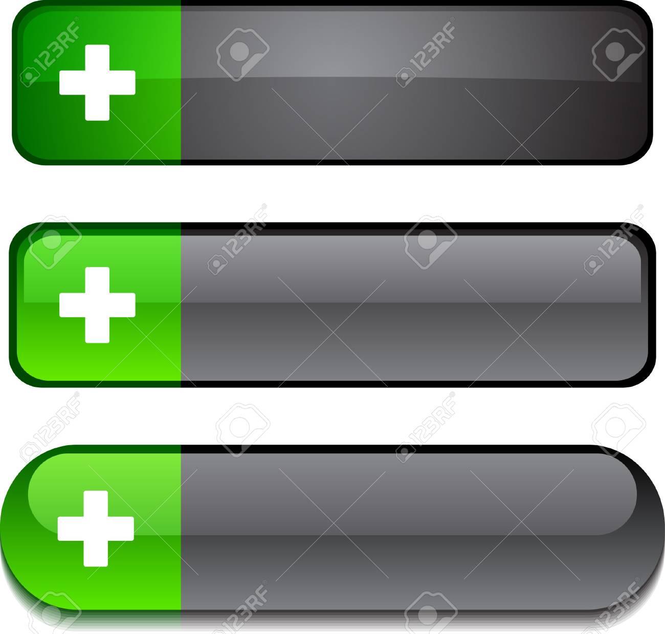 Switzerland   web buttons. Vector illustration. Stock Vector - 6297207