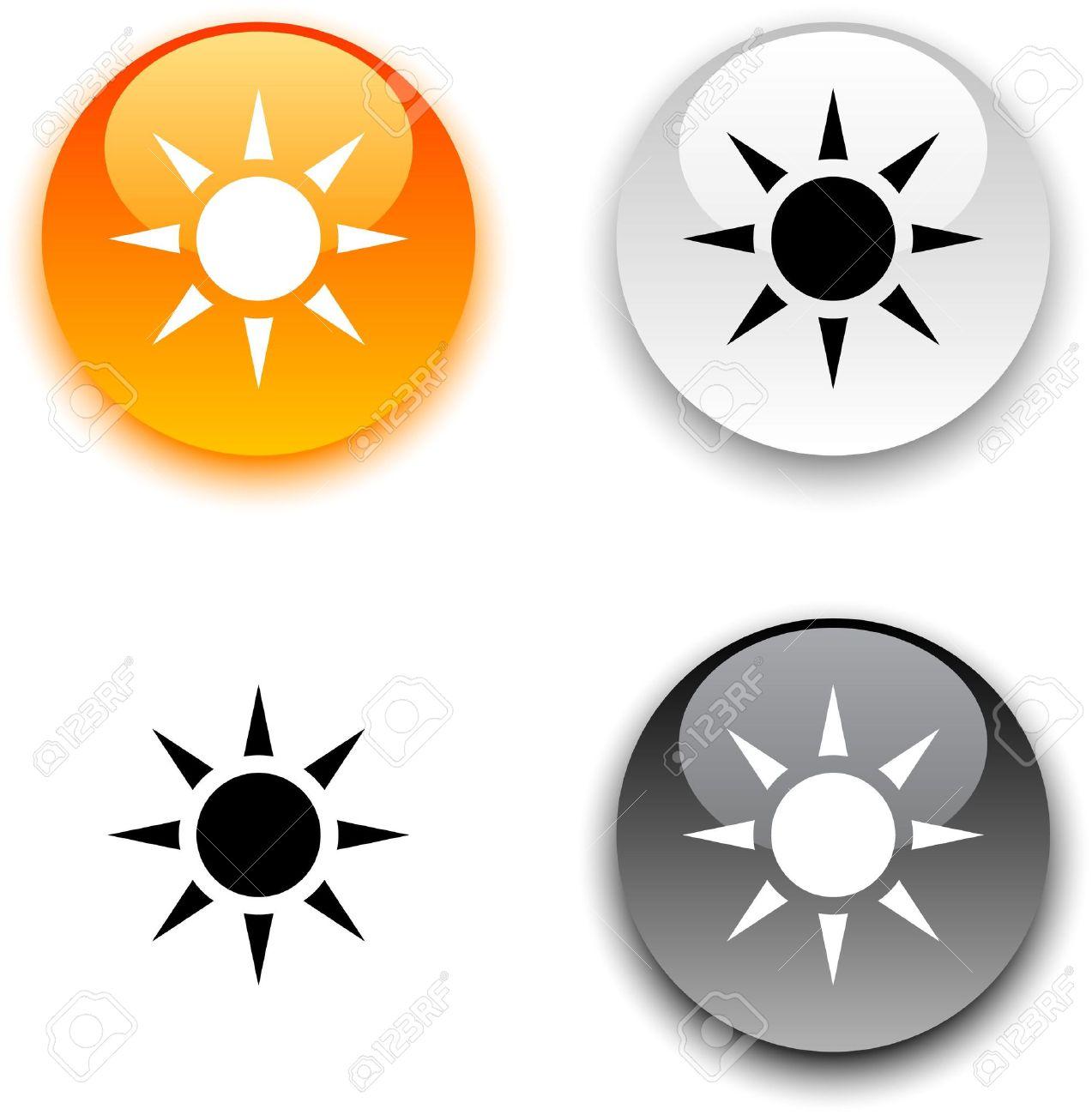 пиктограмма солнца: