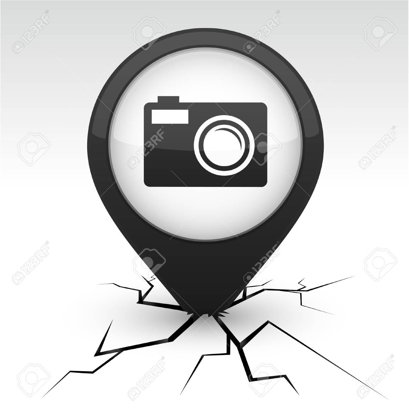 Photo modern icon. Vector illustration. Stock Vector - 10059211
