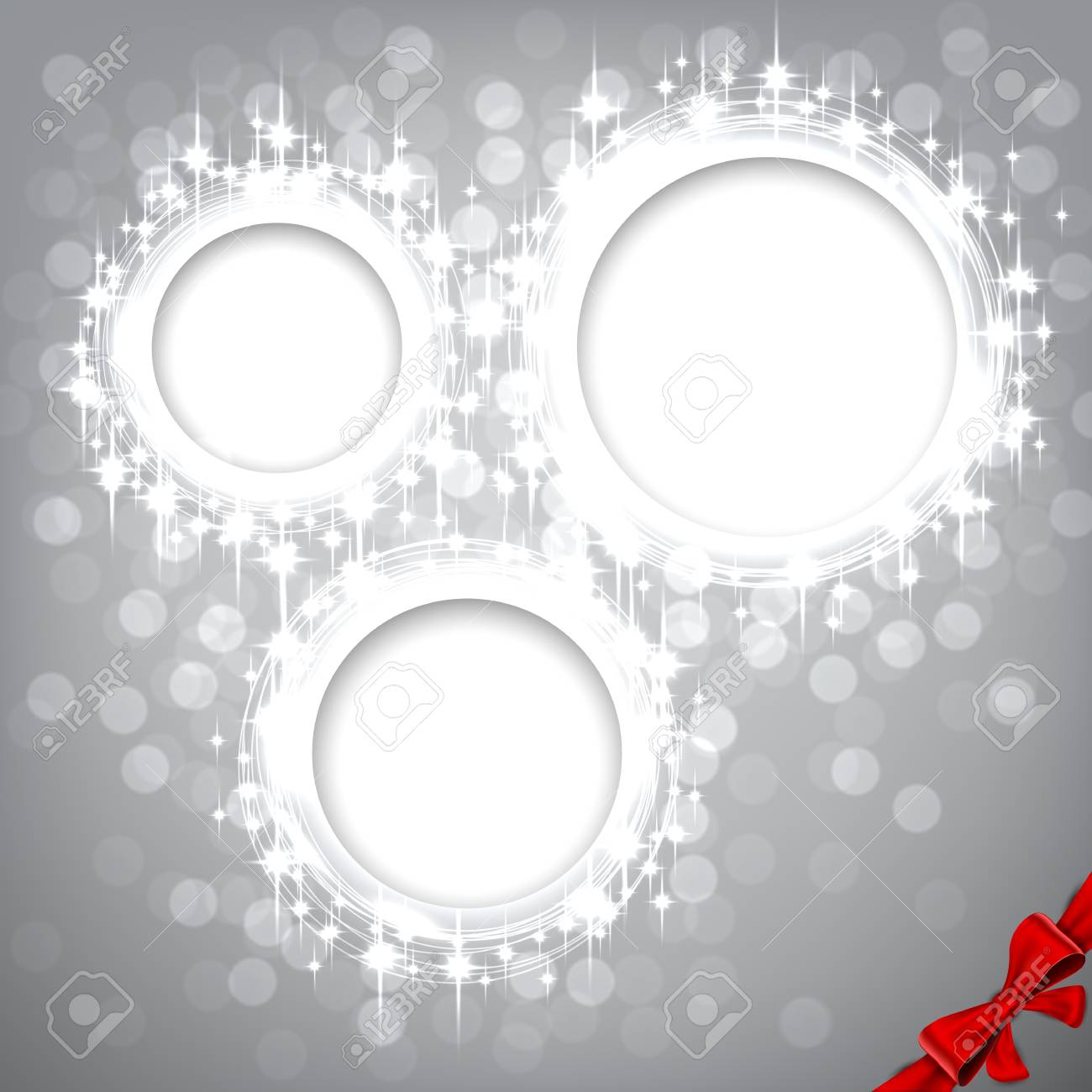 Glowing shiny christmas background Stock Vector - 16174734