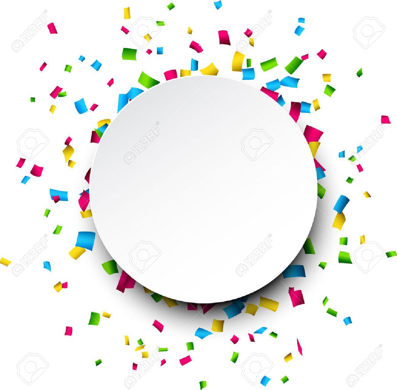 colorful celebration background with confetti vector illustration rh 123rf com confetti vectoriel confetti vector freepik