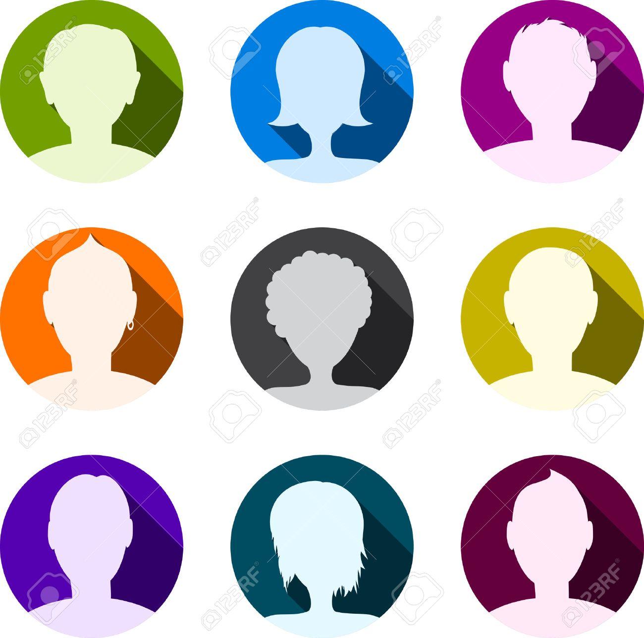 people icon set person symbols vector illustration royalty free rh 123rf com