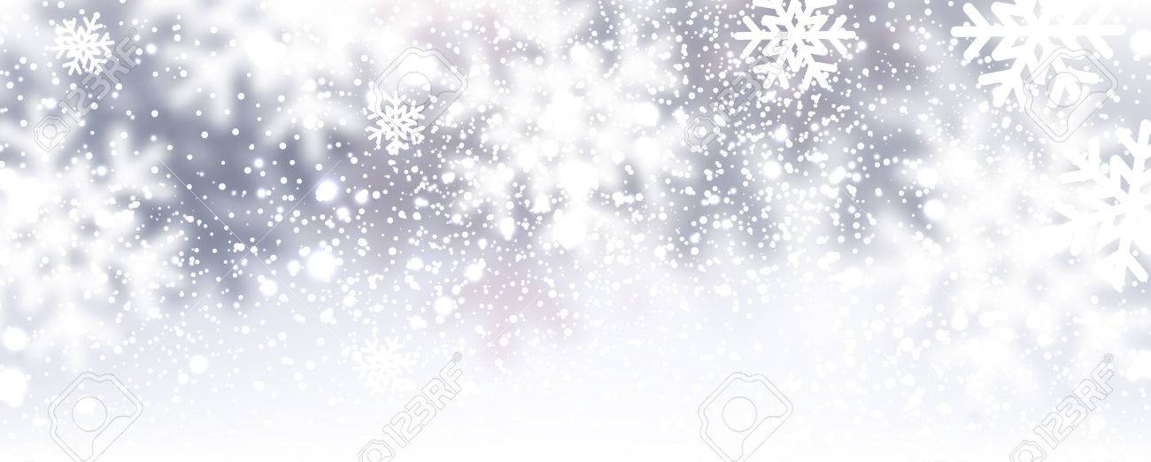 Winter background with snowflakes. Vector Illustration. - 45559880