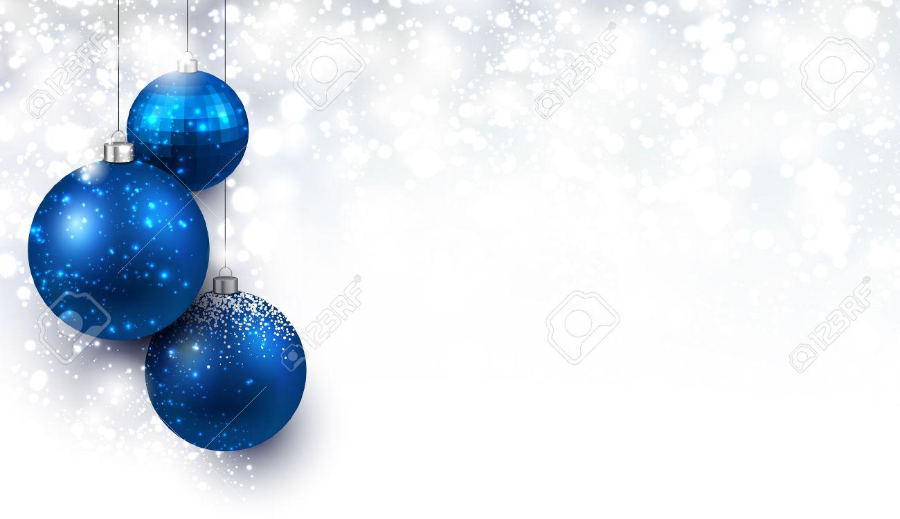 bolas de navidad azul fondo de navidad con bolas de color azul