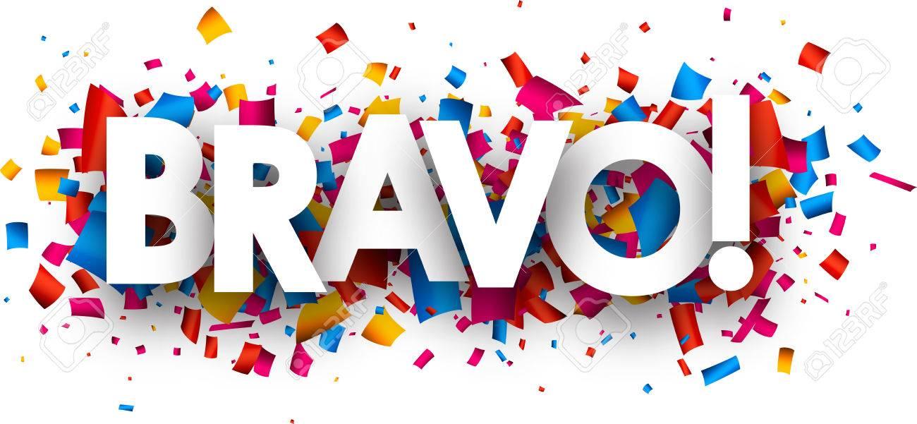 Que   suis -  et  où  - ajonc -   21 janvier  bravo Martin 54826986-bravo-banni%C3%A8re-avec-des-confettis-de-couleurs-vector-illustration-