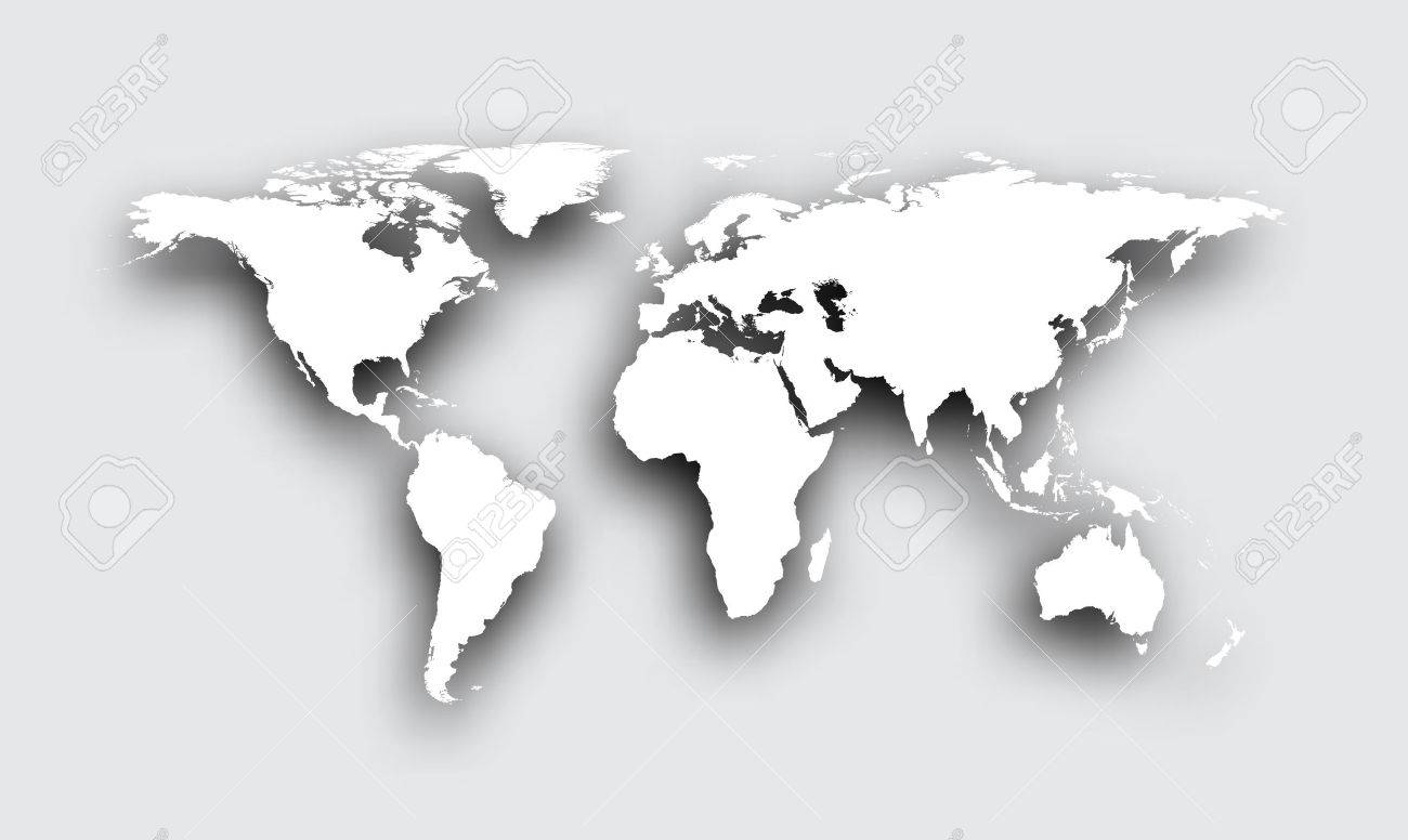 White world map vector on cause and effect samples smallest gray 3d world map with shadow vector paper illustration royalty 58925799 gray 3d world map with shadow vector paper illustration stock vector photo 58925799 sciox Gallery