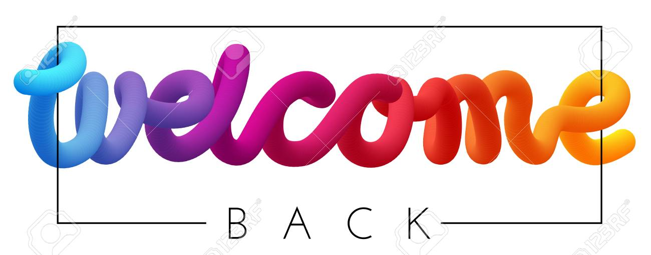 Welcome Back Template from previews.123rf.com