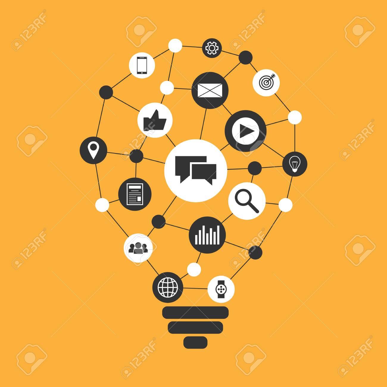digital marketing vector illustration royalty free cliparts vectors and stock illustration image 76713610 digital marketing vector illustration