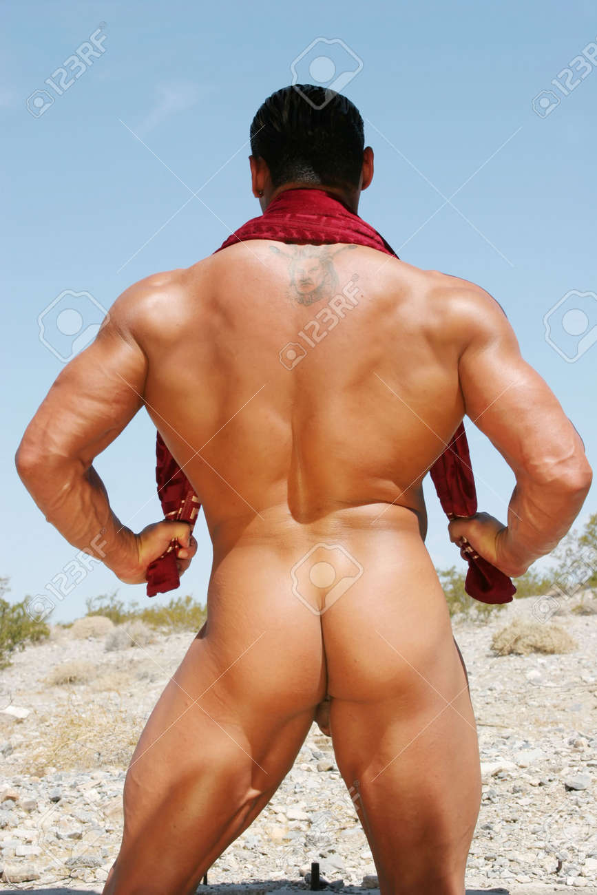 Body Builders Nude Photos back of a nude body builder