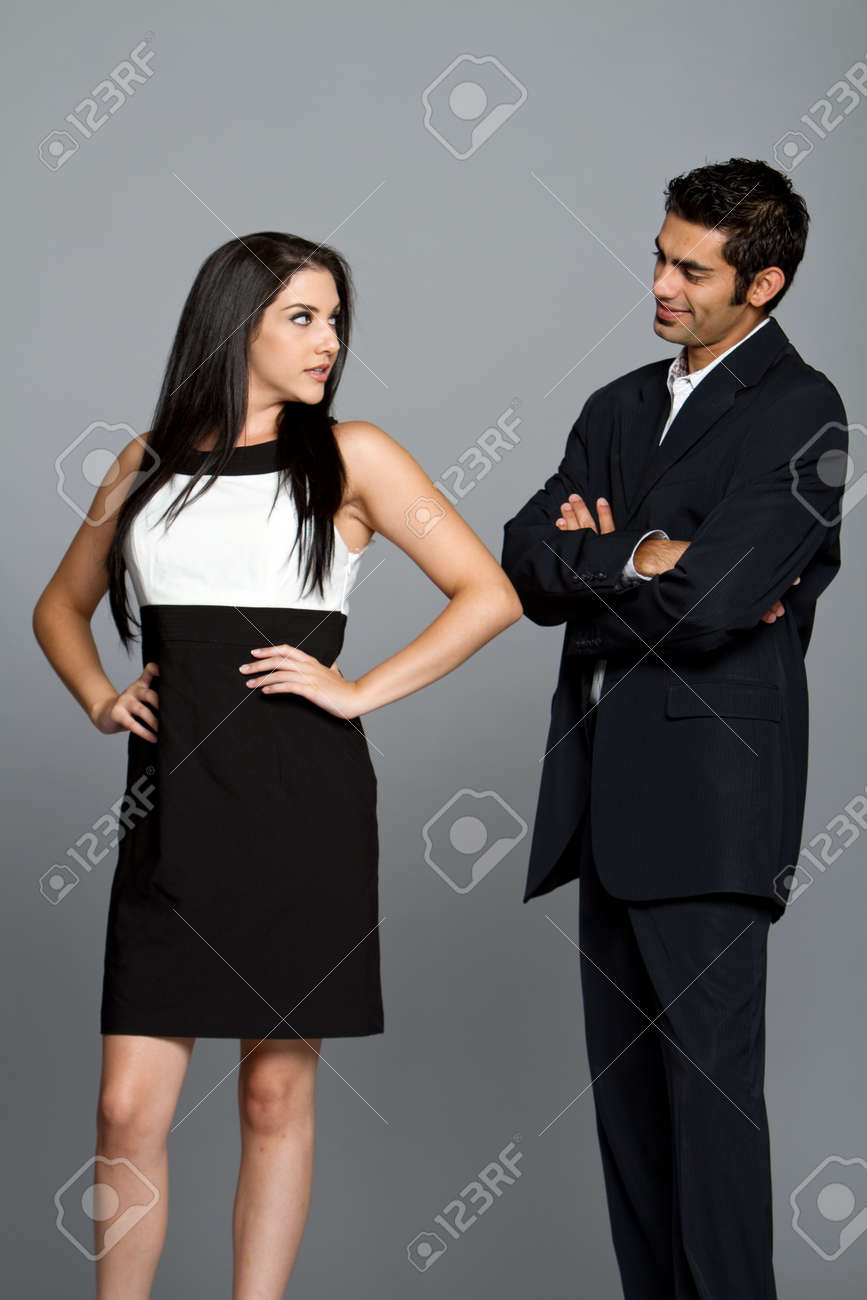 Young couple having problems between each other Stock Photo - 7431924