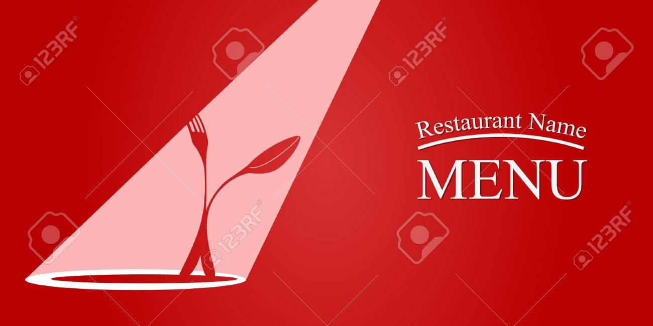 Diseño de la tarjeta del menú. EPS 10 archivos Foto de archivo - 40767210
