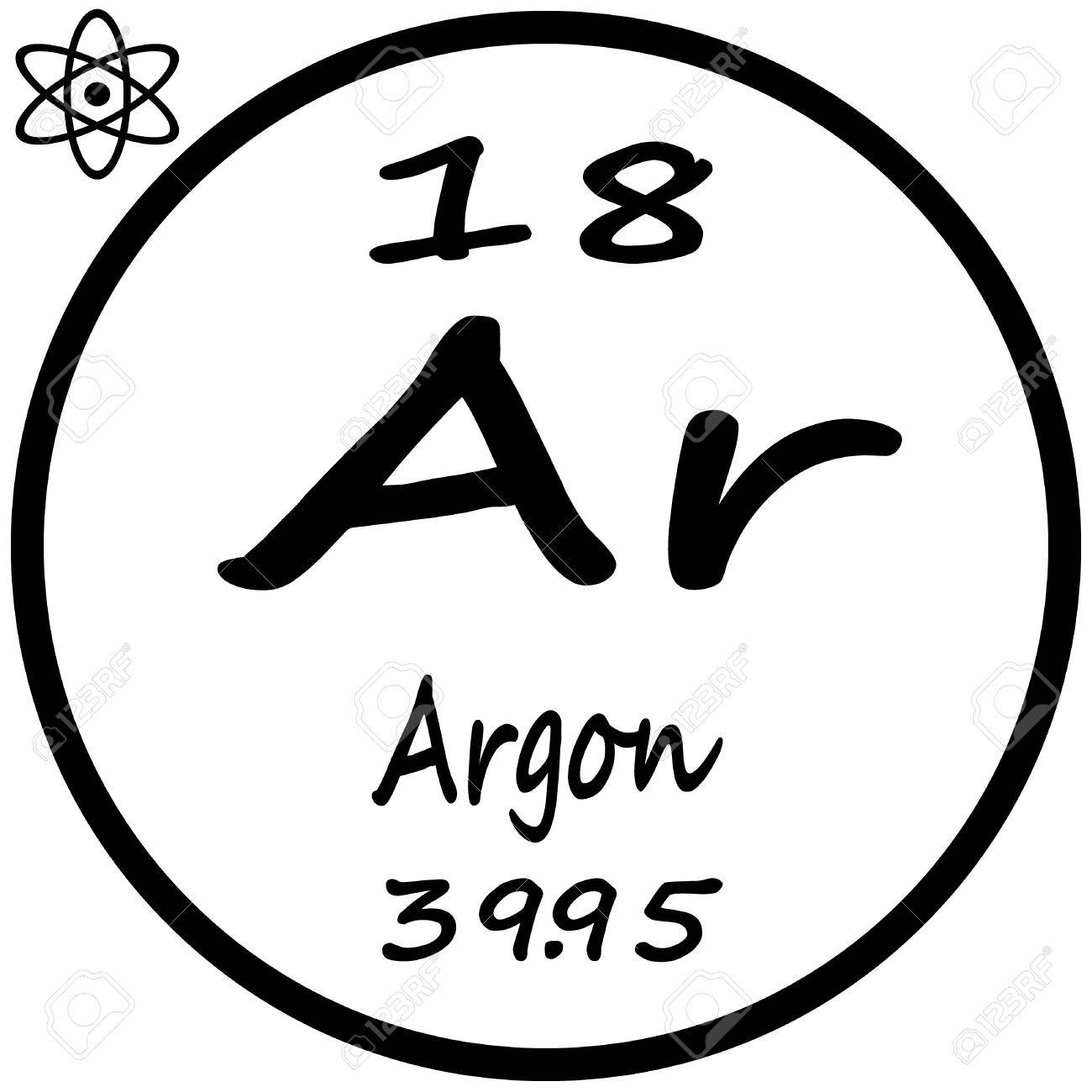 Periodic table of elements argon image collections periodic periodic table of elements argon royalty free cliparts vectors periodic table of elements argon stock vector gamestrikefo Choice Image