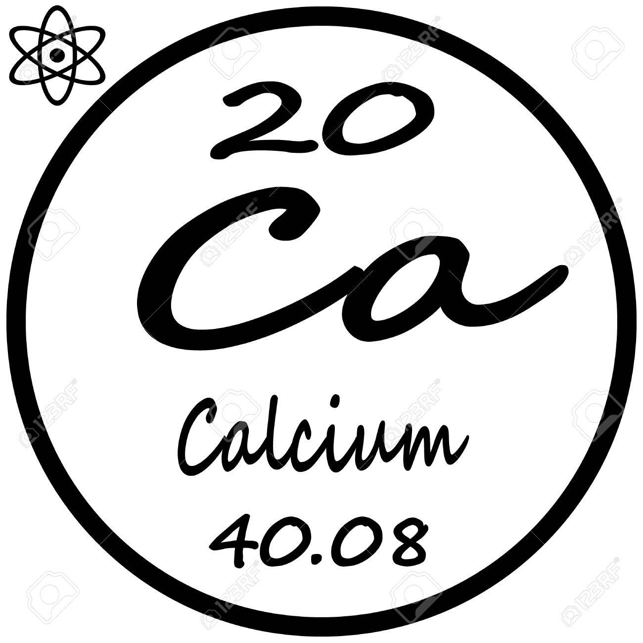 Periodic table of elements calcium royalty free cliparts vectors periodic table of elements calcium stock vector 53482437 urtaz Gallery