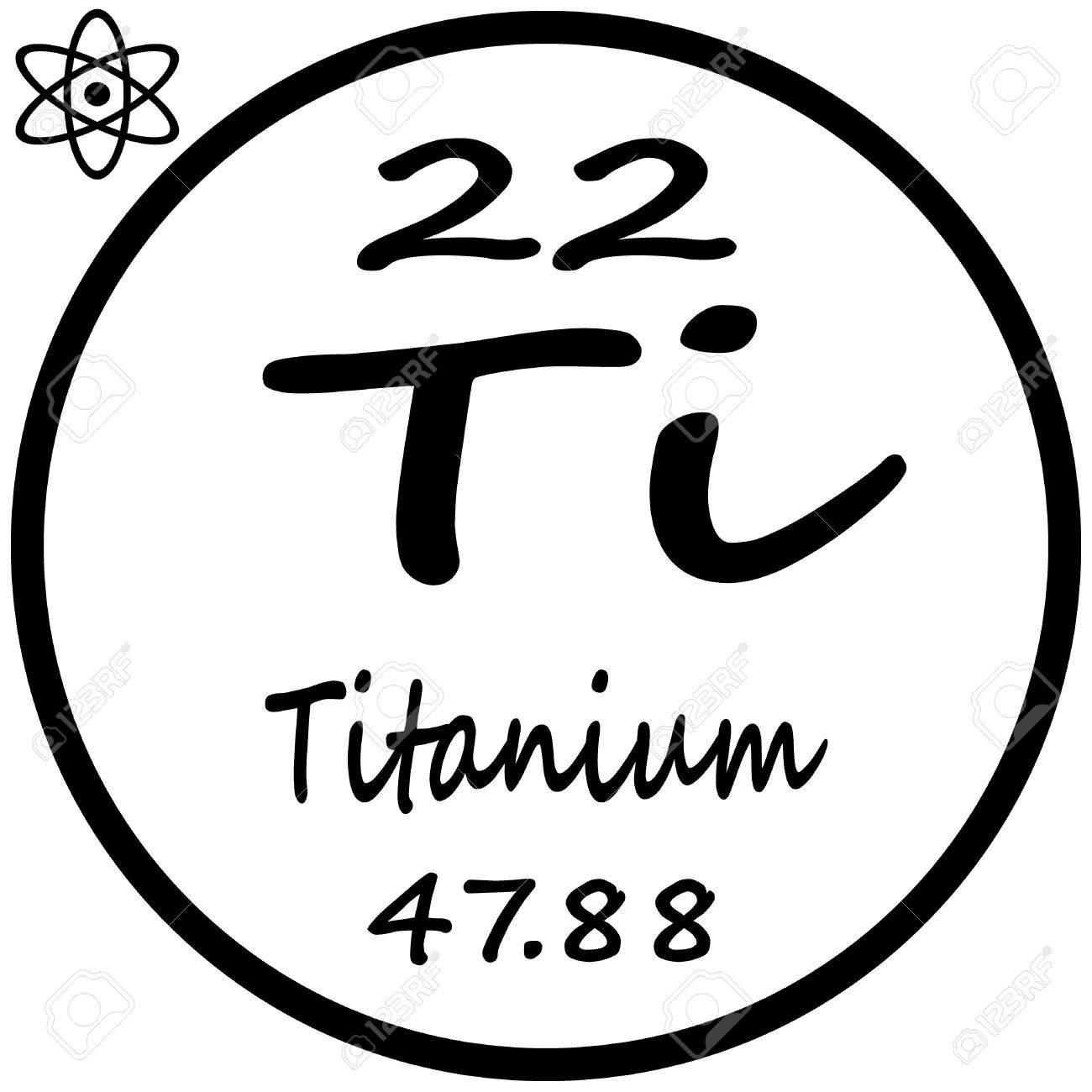 Tabla peridica de los elementos titanio ilustraciones vectoriales foto de archivo tabla peridica de los elementos titanio urtaz Choice Image