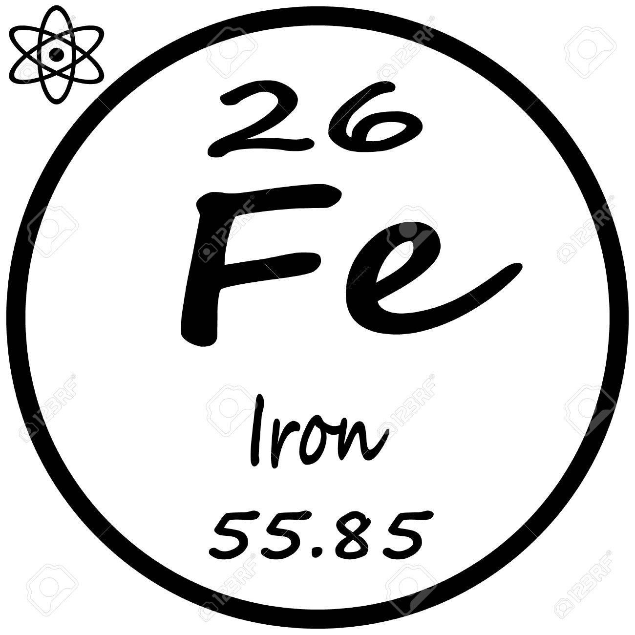 Tabla peridica de los elementos hierro ilustraciones vectoriales foto de archivo tabla peridica de los elementos hierro urtaz Image collections