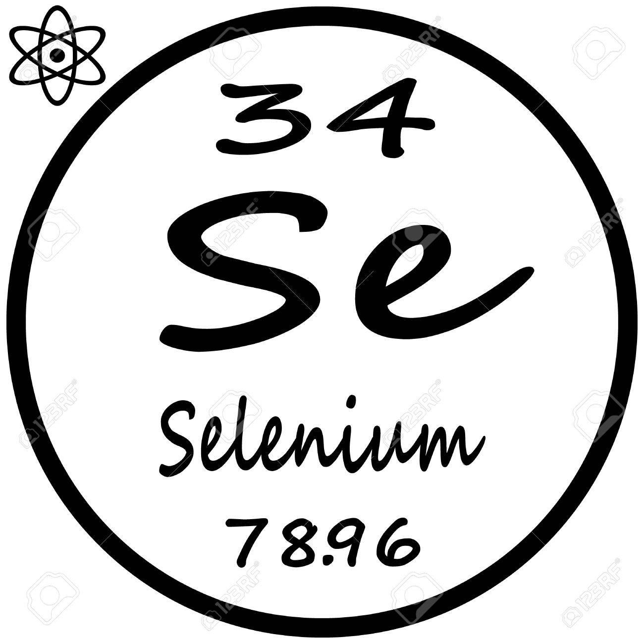 Tabla peridica de los elementos selenio ilustraciones vectoriales foto de archivo tabla peridica de los elementos selenio urtaz Images