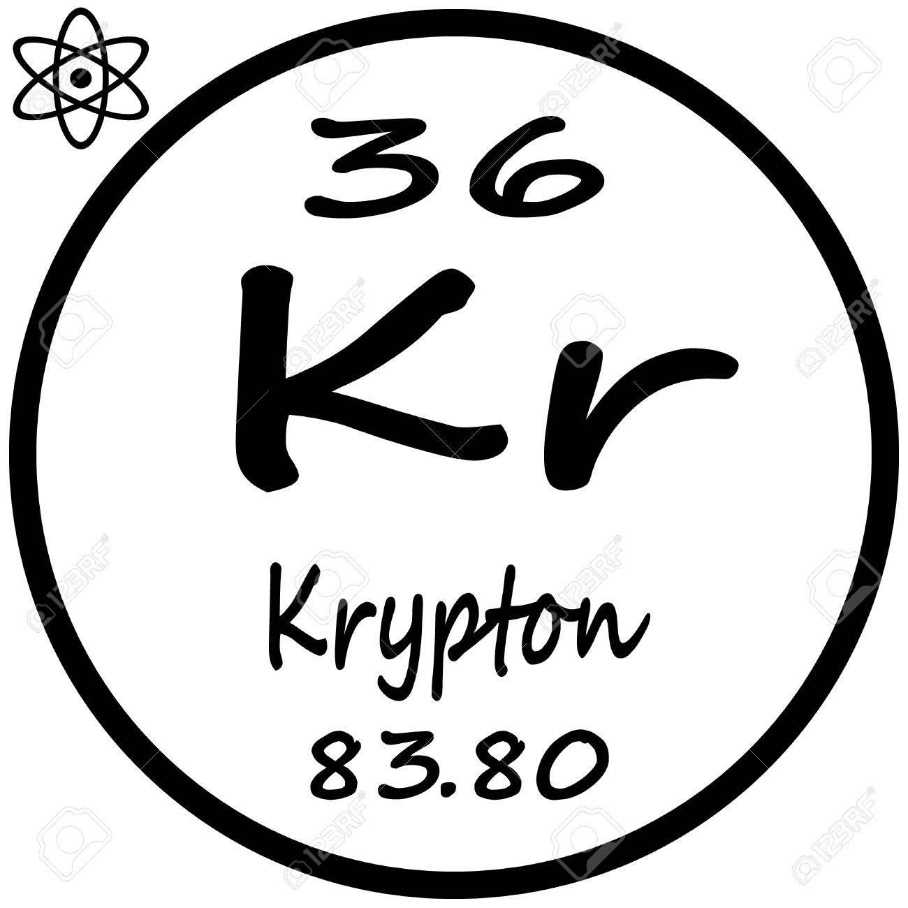 Periodic table of elements krypton royalty free cliparts vectors periodic table of elements krypton stock vector 53482483 urtaz Choice Image