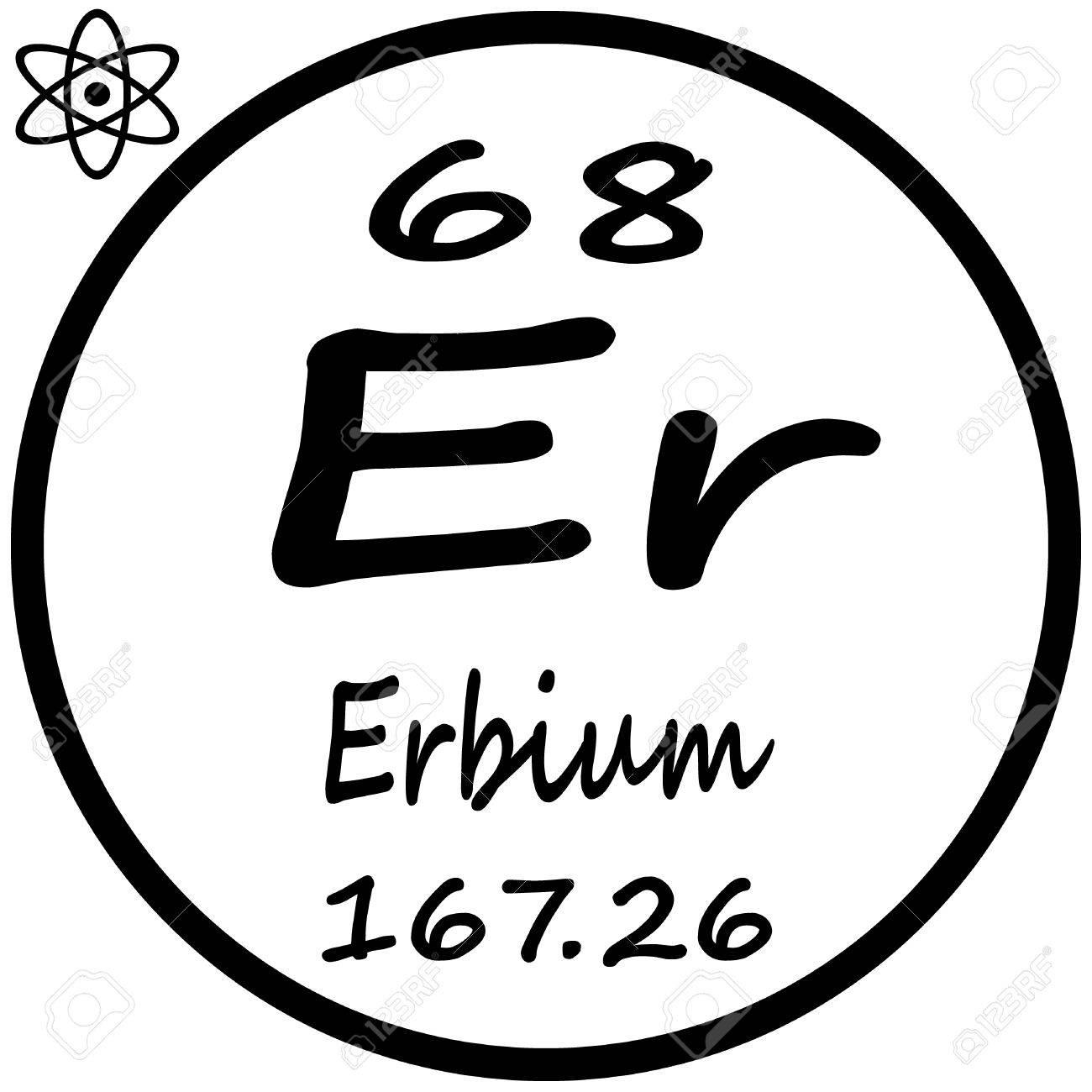 Erbium chemical element periodic table idef0 visio arrow clip art erbium chemical element periodic table africa and egypt map 53482605 periodic table of elements erbium stock gamestrikefo Image collections