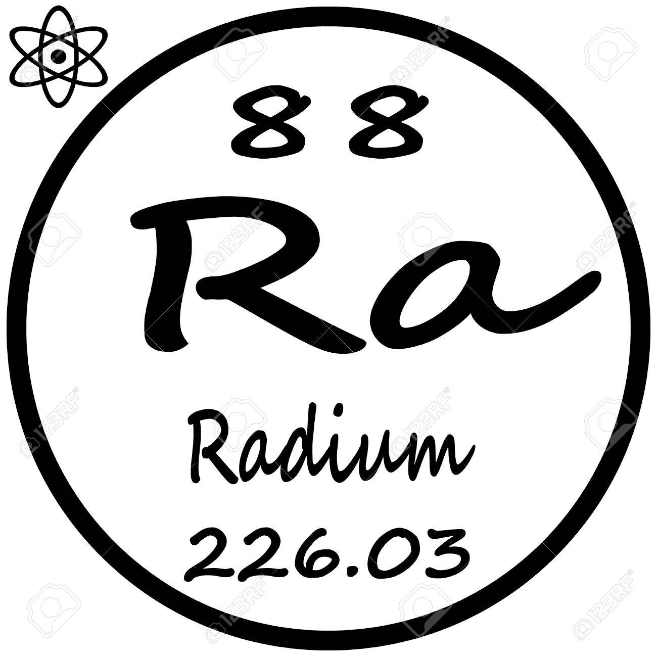 Periodic table of elements radium royalty free cliparts vectors periodic table of elements radium stock vector 53482666 gamestrikefo Images
