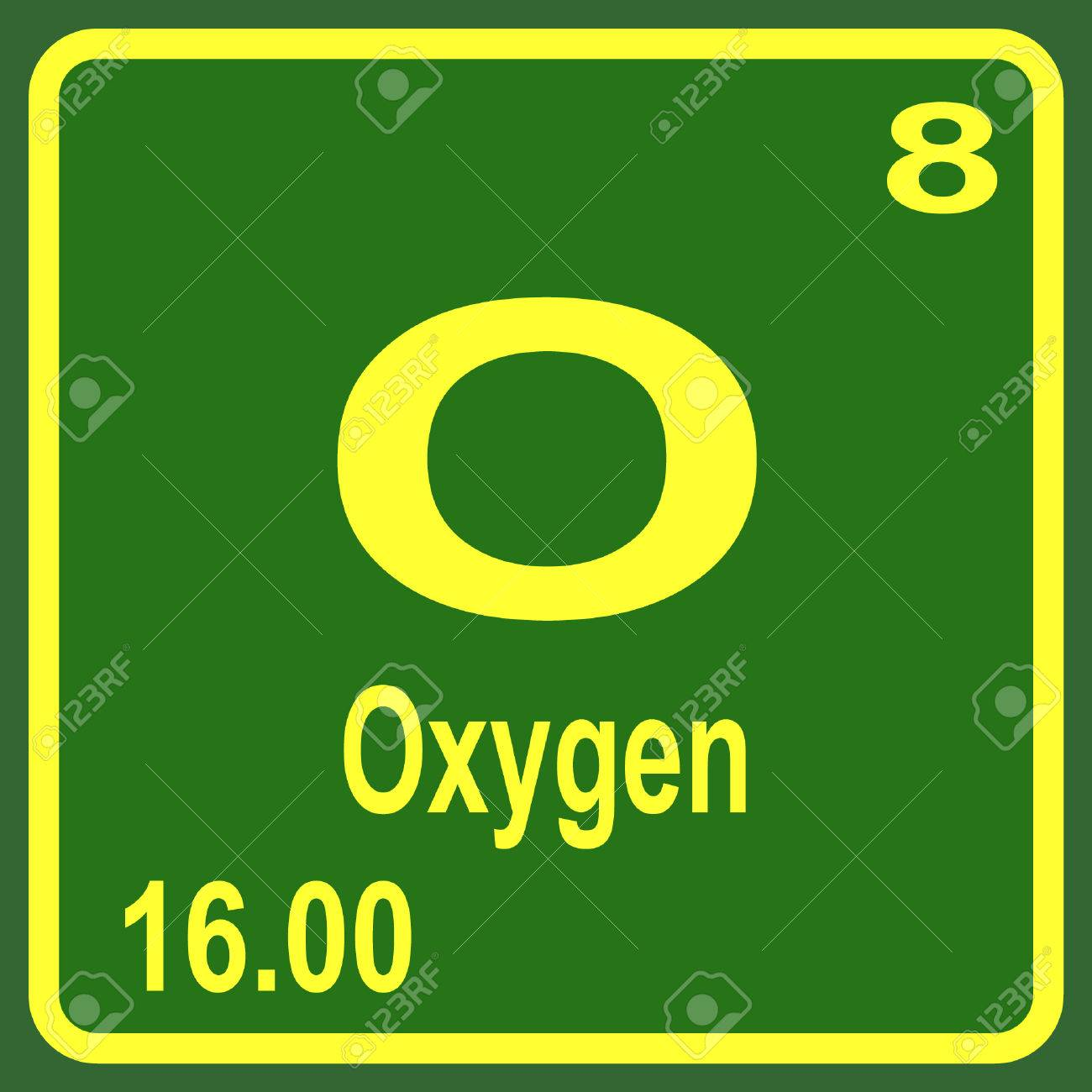Periodic table of elements oxygen royalty free cliparts vectors periodic table of elements oxygen stock vector 53900235 urtaz Images