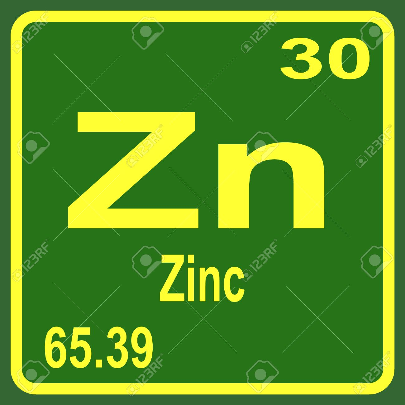 Periodic table of elements zinc royalty free cliparts vectors periodic table of elements zinc stock vector 53900420 urtaz Images