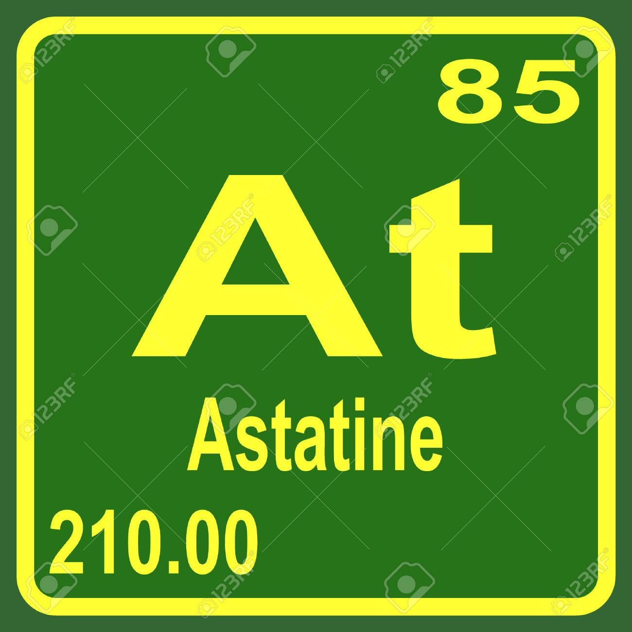Periodic table of elements astatine royalty free cliparts vectors periodic table of elements astatine stock vector 53901555 urtaz Image collections