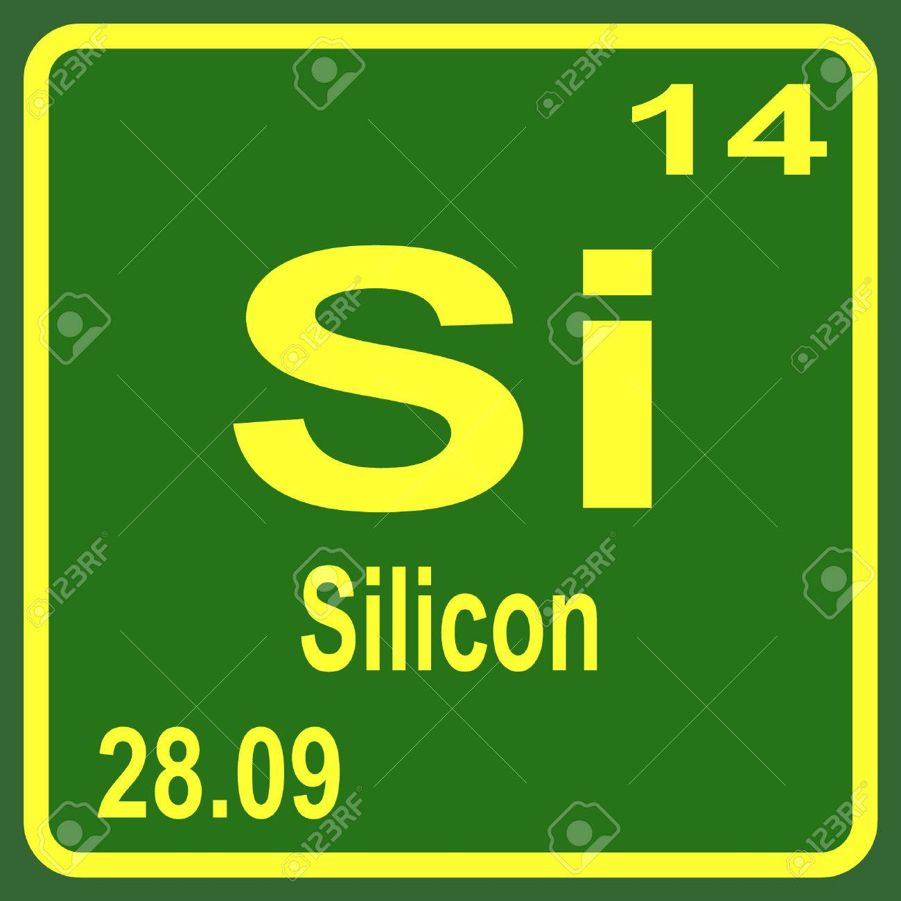 Periodic table of elements silicon royalty free cliparts periodic table of elements silicon stock vector 53901636 biocorpaavc Gallery
