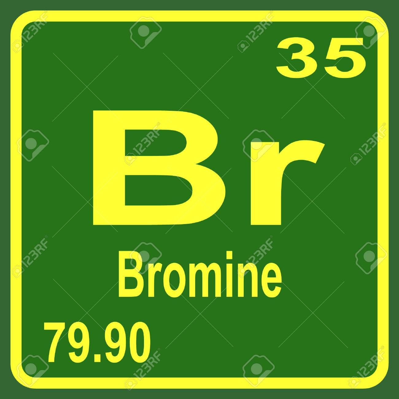 Periodic table of elements bromine royalty free cliparts vectors periodic table of elements bromine stock vector 53901639 buycottarizona Choice Image