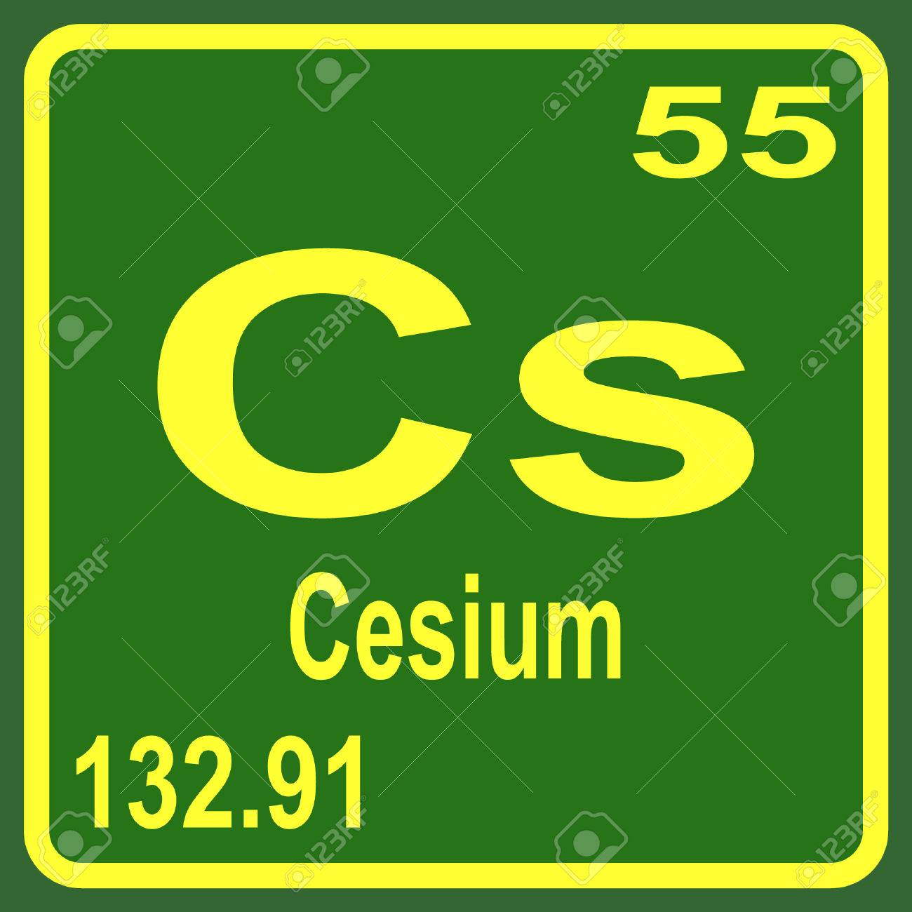 Periodic table of elements cesium royalty free cliparts vectors periodic table of elements cesium stock vector 53898008 gamestrikefo Image collections