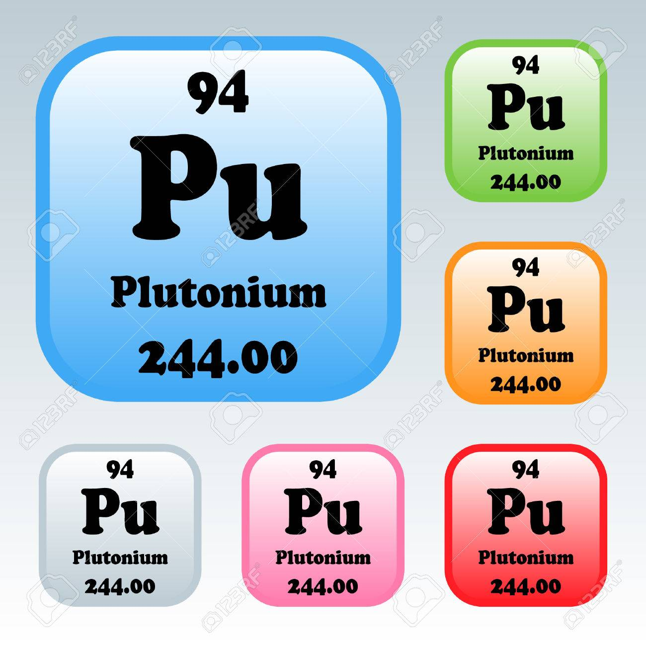 The periodic table of the elements plutonium royalty free cliparts the periodic table of the elements plutonium stock vector 54092683 gamestrikefo Image collections