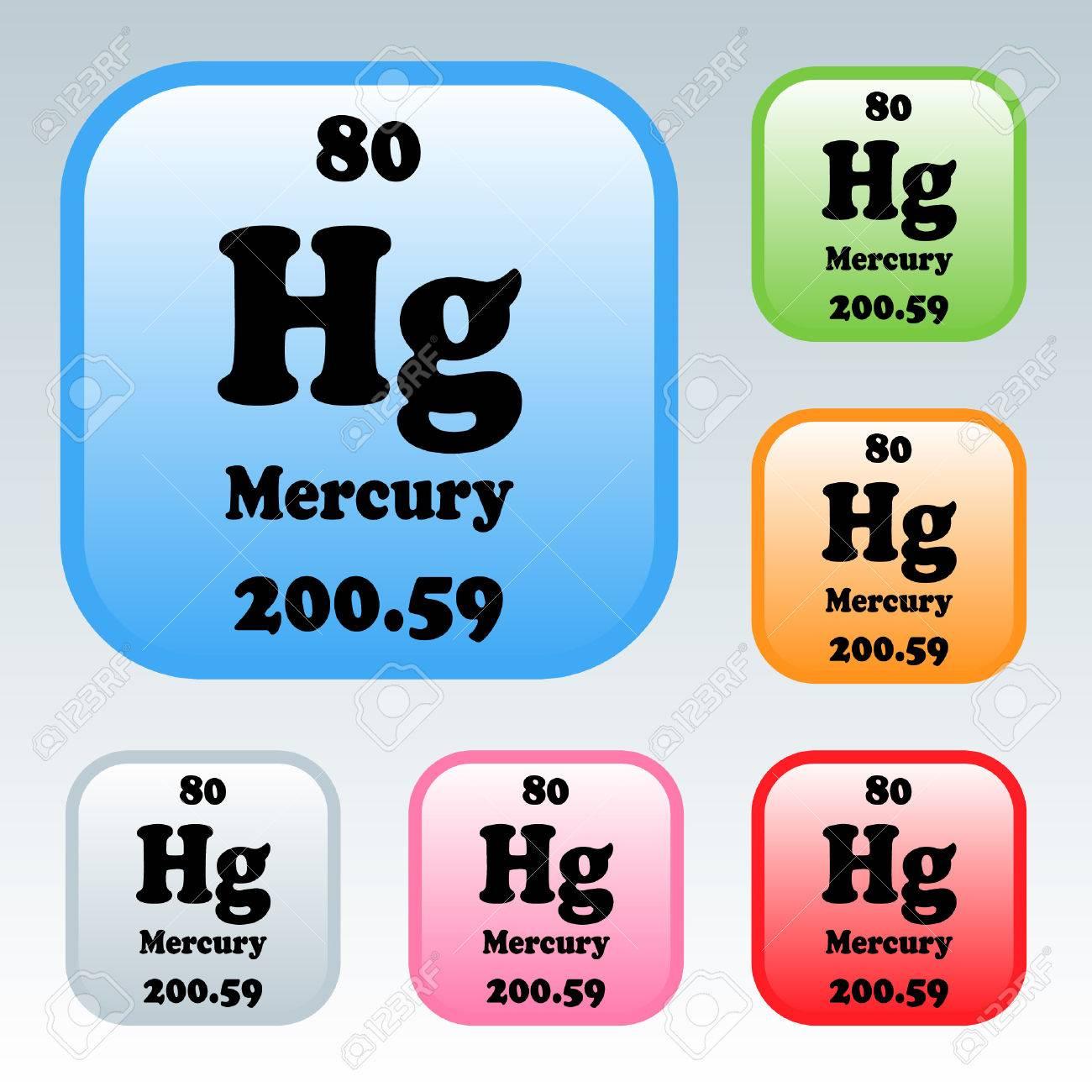 The periodic table of the elements mercury royalty free cliparts the periodic table of the elements mercury stock vector 54093363 urtaz Image collections